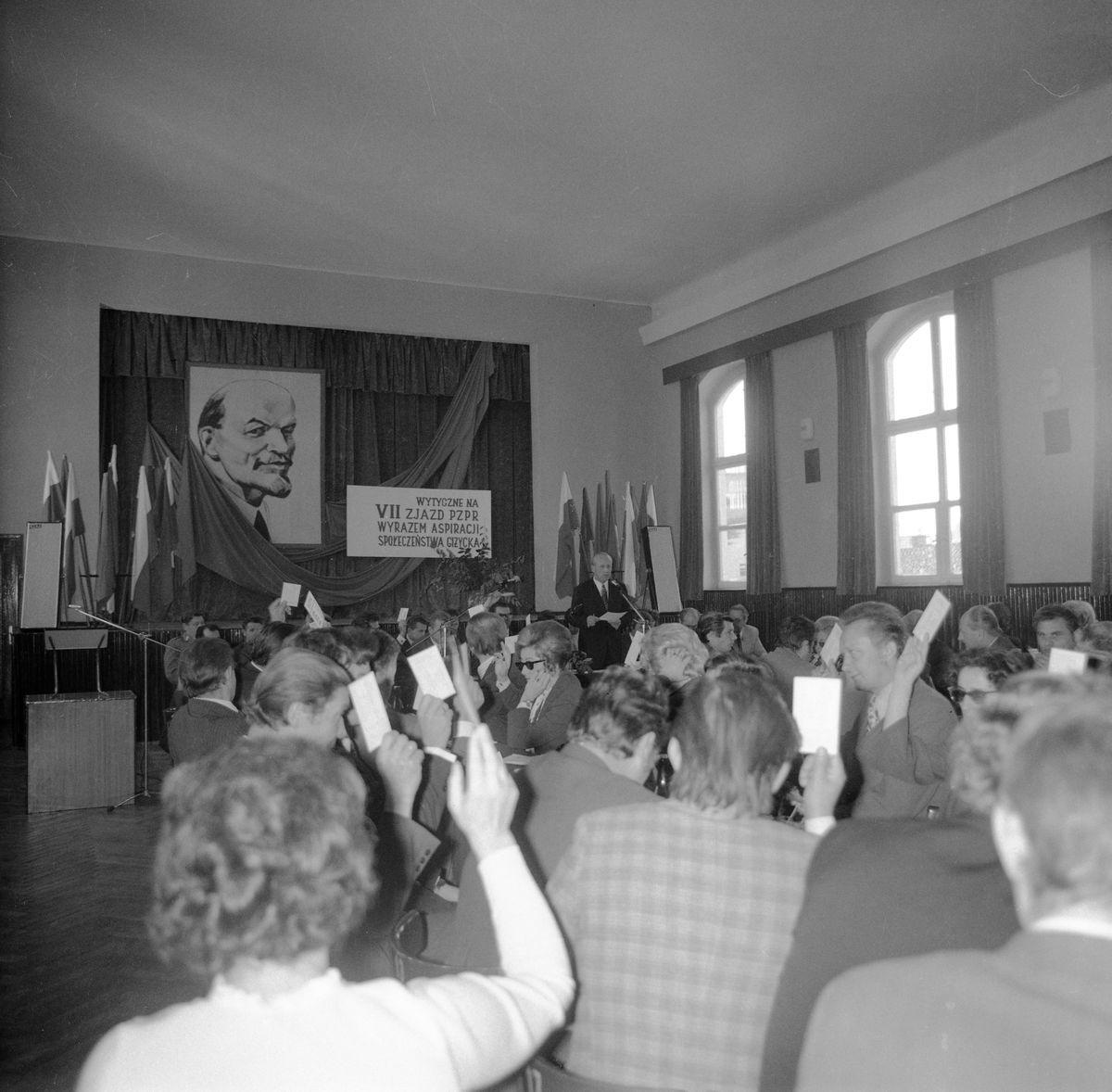 Miejska Przedzjazdowa Konferencja PZPR, 1975 r.