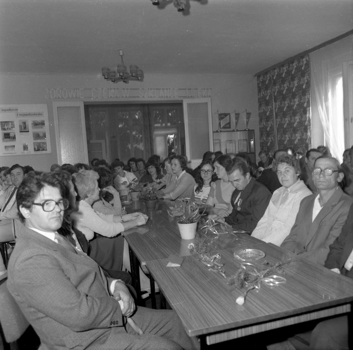 Spotkanie jubileuszowe w Mleczarni, 1985 r. [2]