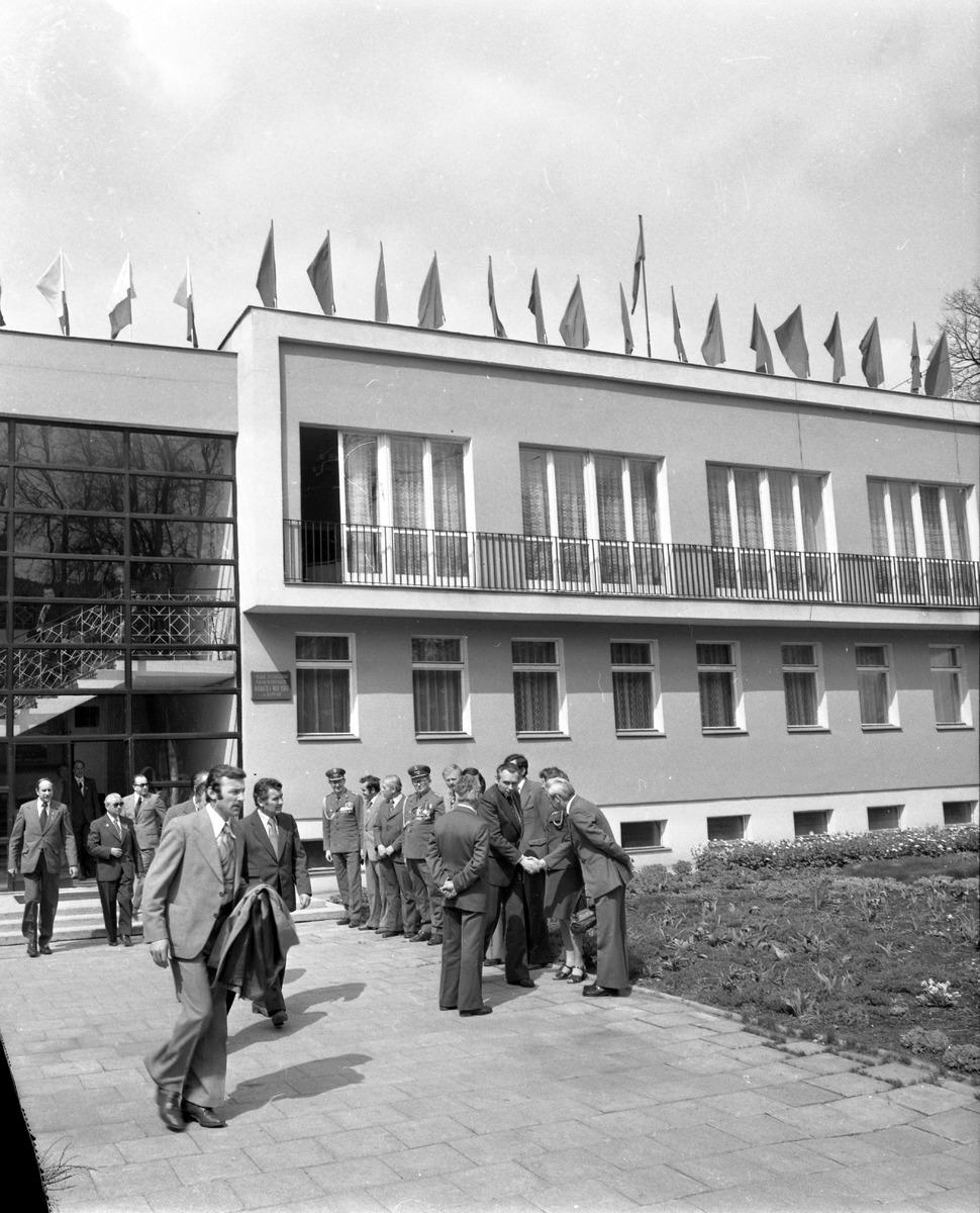Uroczystość odsłonięcia pomnika żołnierzy radzieckich [1]