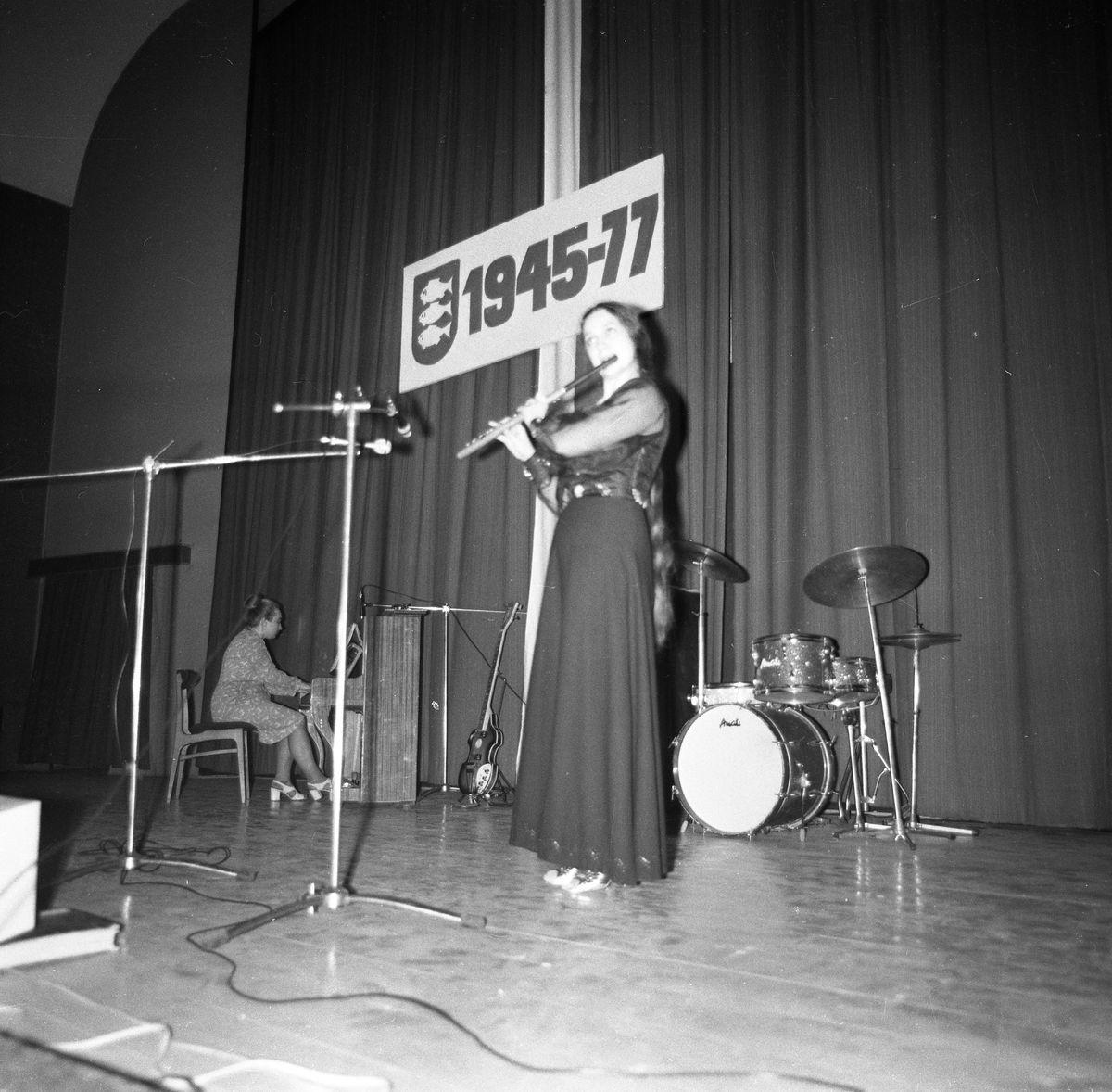 32. rocznica wyzwolenia Giżycka, 1977 r.