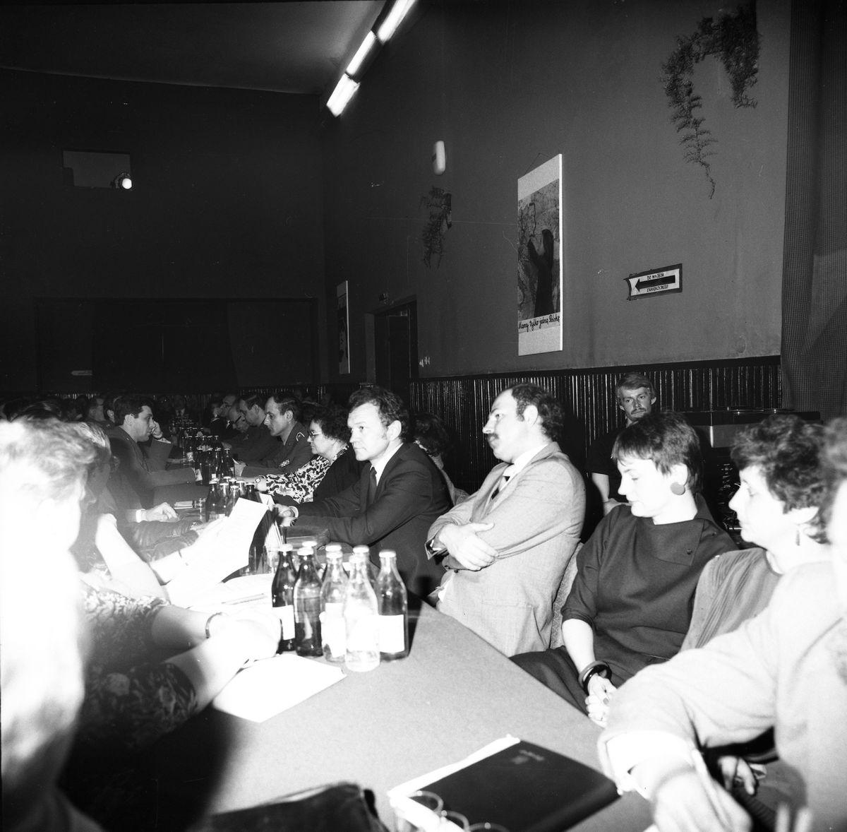 Spotkanie giżyckich struktur PZPR, 1986 r. [1]