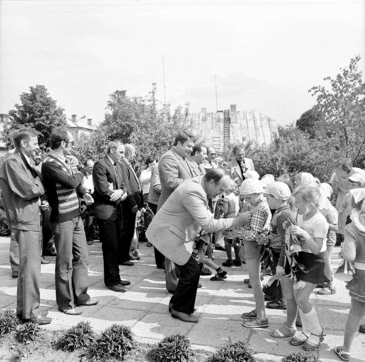 Delegacja z Giżycka na Litwie, 1985 r.