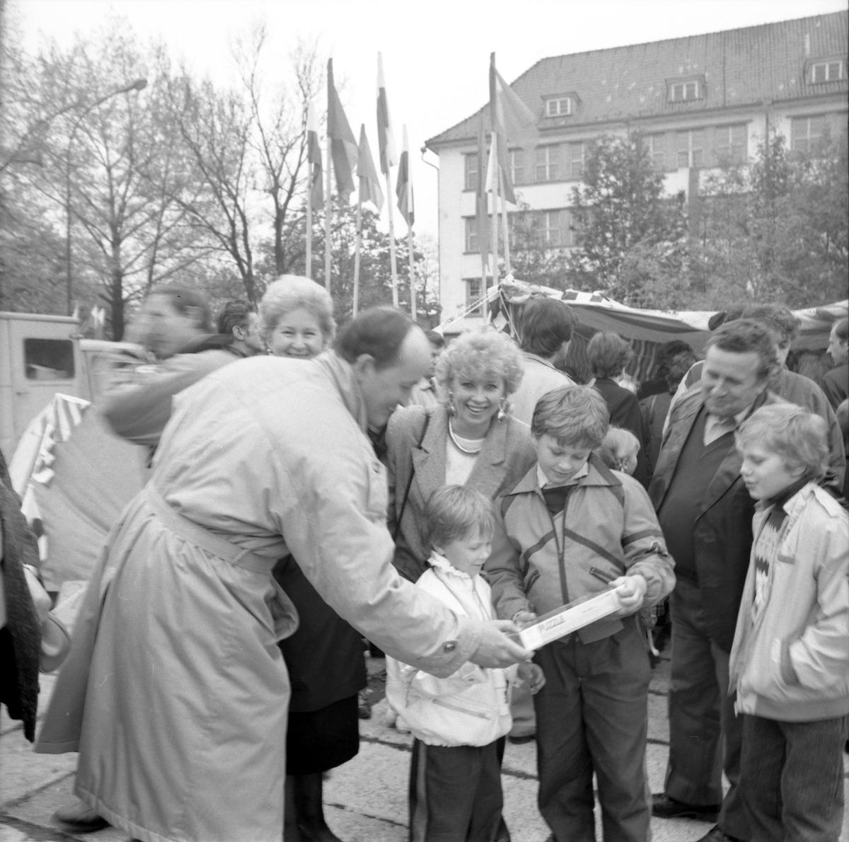 Pochód pierwszomajowy, 1989 r. [6]