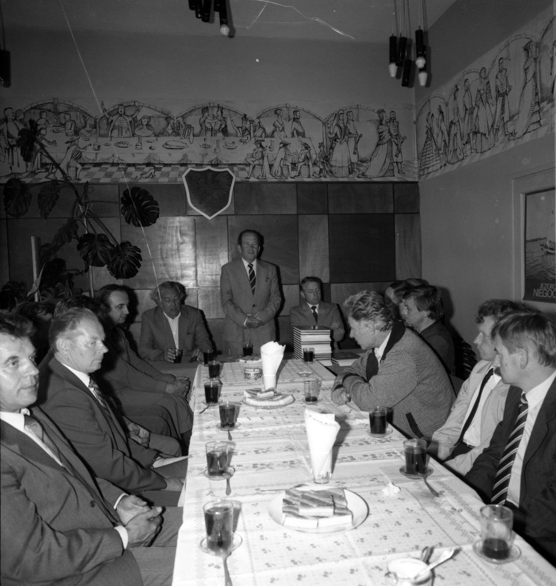 Spotkanie zarządu ZSL, 1987 r.