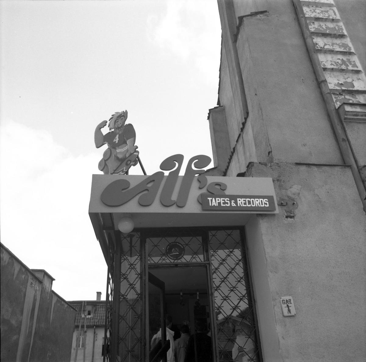 Sklep muzyczny Alf`s przy ul. Kętrzyńskiego