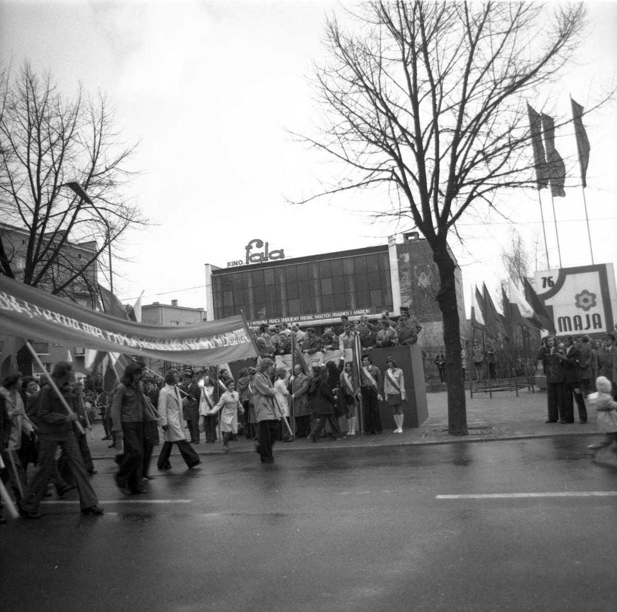 Pochód pierwszomajowy, 1976 r. [8]