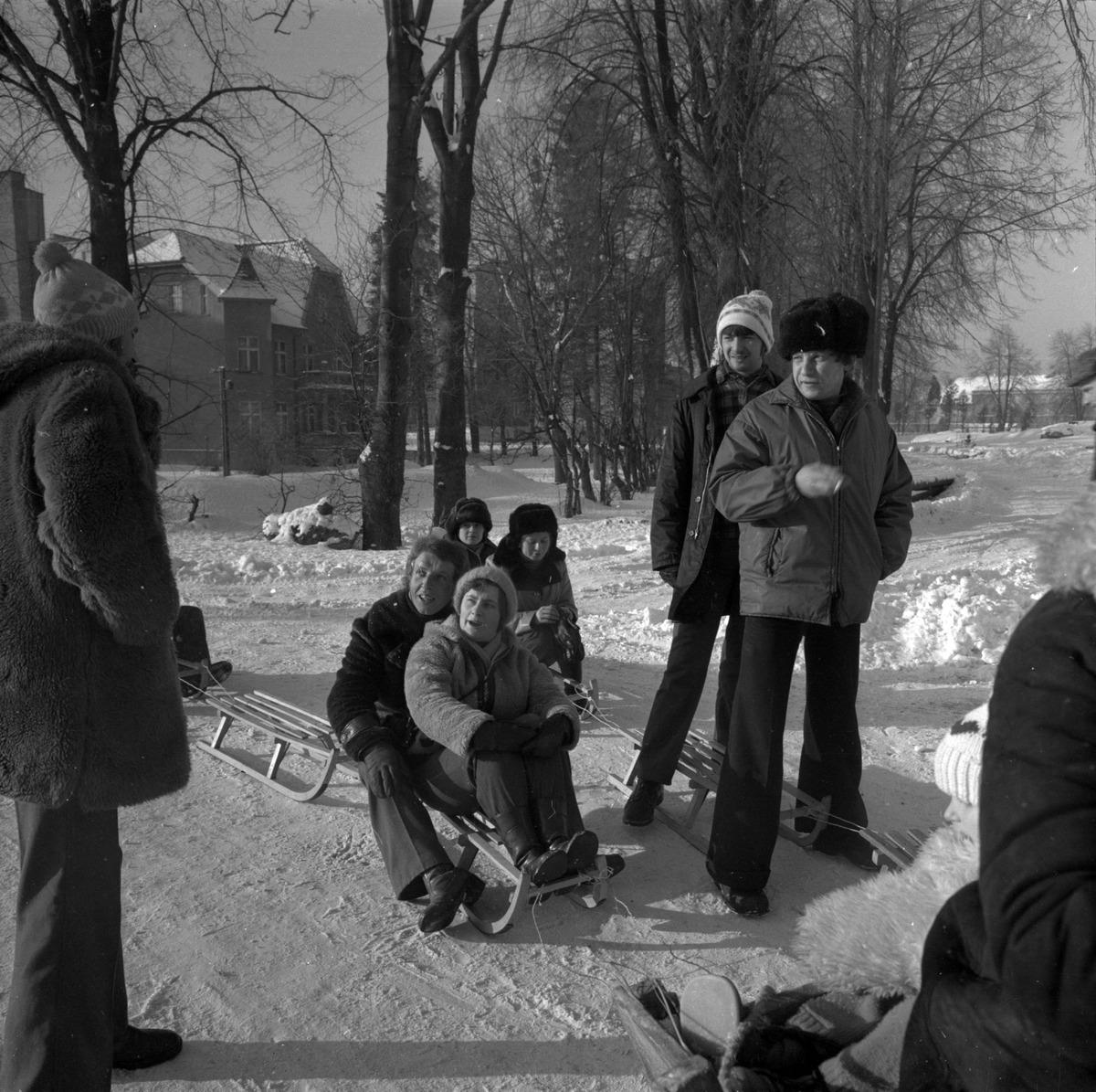 """Kulig pracowników MSI """"ZGODA"""", 1979 r. [8]"""