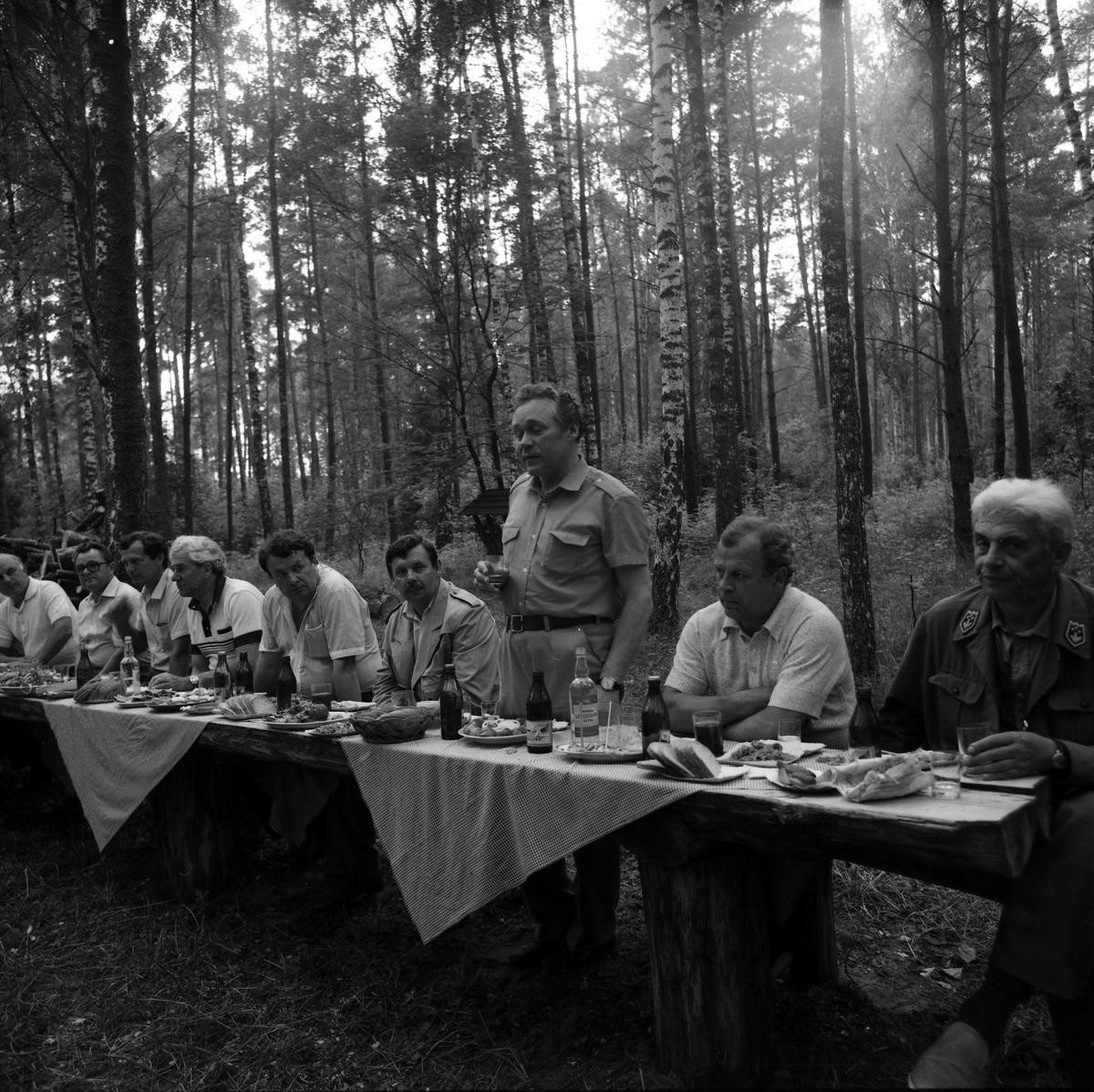 Wizyta delegacji litewskiej, 1987 r.