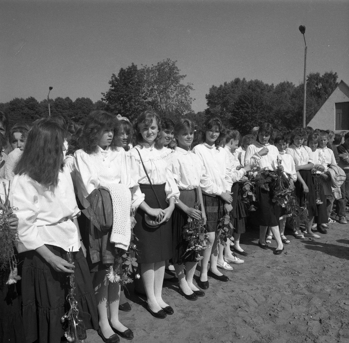 Zakończenie roku szkolnego 1988/1989 w SP2
