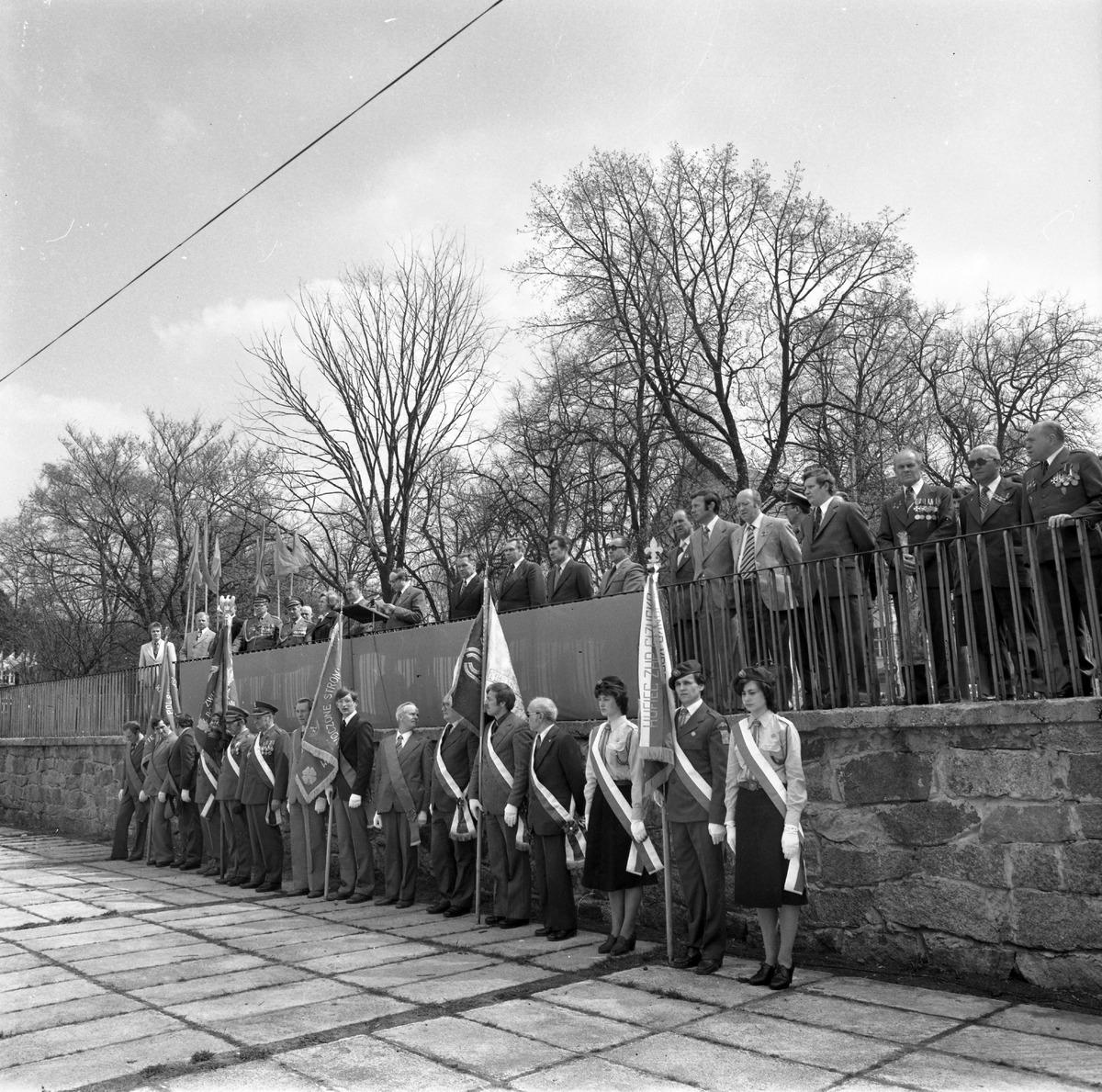 Uroczystość odsłonięcia pomnika żołnierzy radzieckich [3]