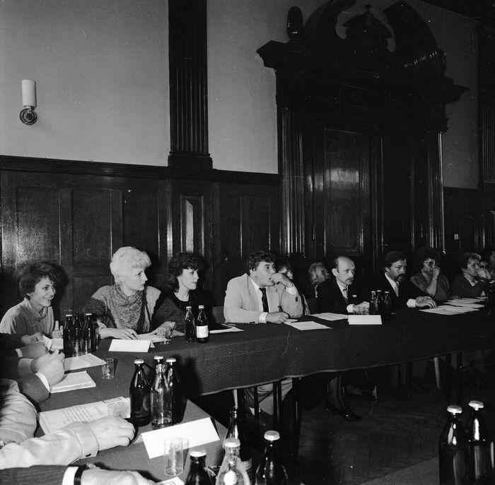 Uroczysta sesja Rady Miejskiej, 1990 r. [11]