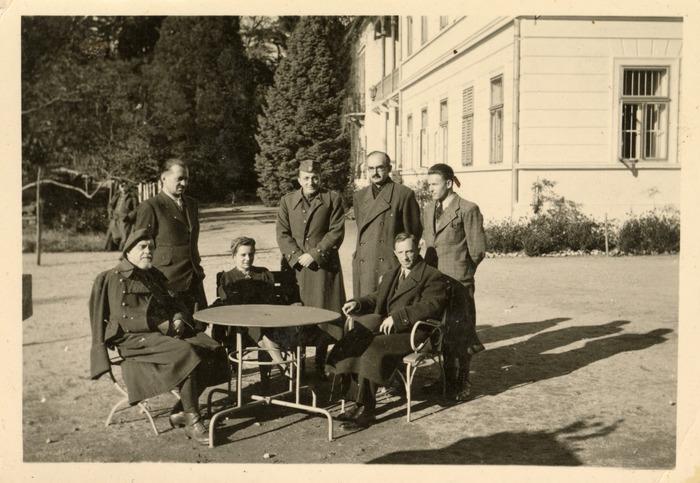 Maria Cichosz podczas internowania na Węgrzech [6]