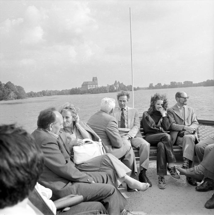 Wizyta delegacji z Giżycka na Litwie: Troki [67]