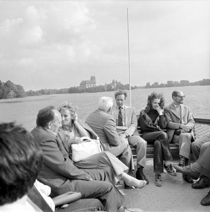 Wizyta delegacji z Giżycka na Litwie: Troki [71]
