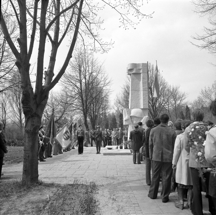 Uroczystość odsłonięcia pomnika żołnierzy radzieckich [40]