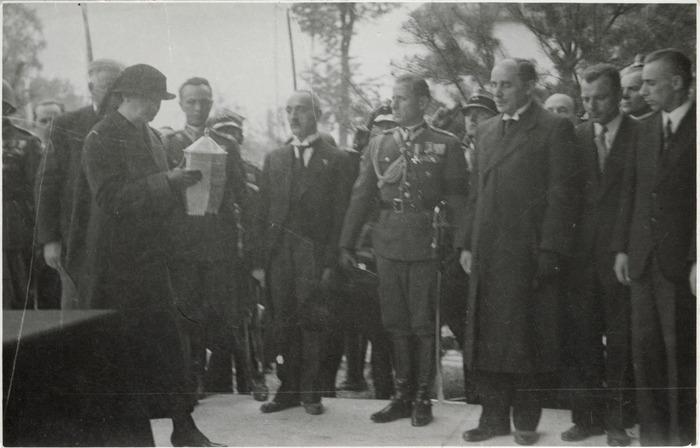 Pogrzeb serca Józefa Piłsudskiego w Wilnie [64]
