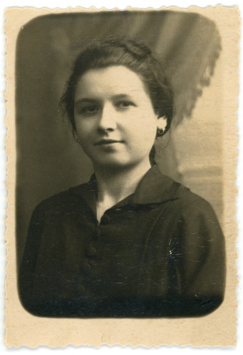 Janina Klimiuk, 1923 r.
