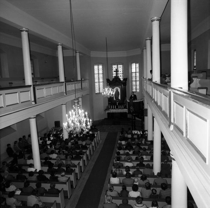 Nabożeństwo w kościele ewangelickim [1]