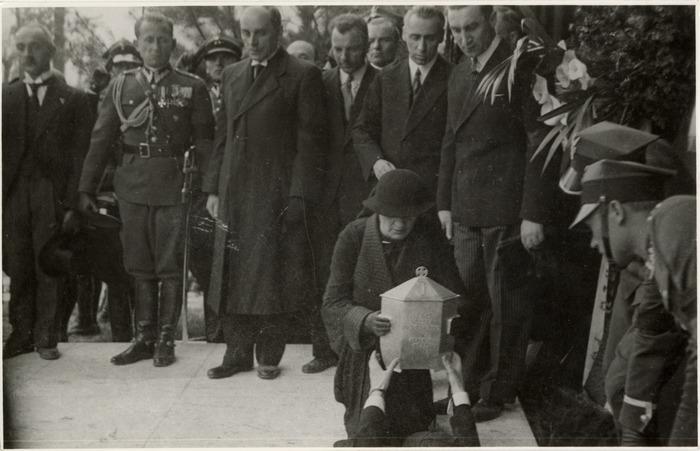 Pogrzeb serca Józefa Piłsudskiego w Wilnie [65]