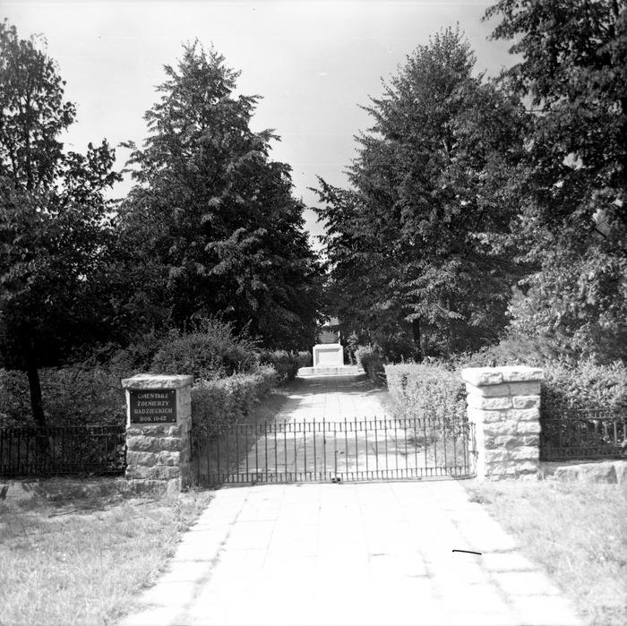 Cmentarz wojenny żołnierzy radzieckich [7]