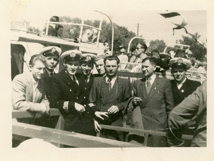 "Rejs statkiem ""M. Fornalska"" - lata 50. XX w. [1]"