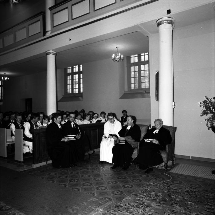 Nabożeństwo w kościele ewangelickim [7]