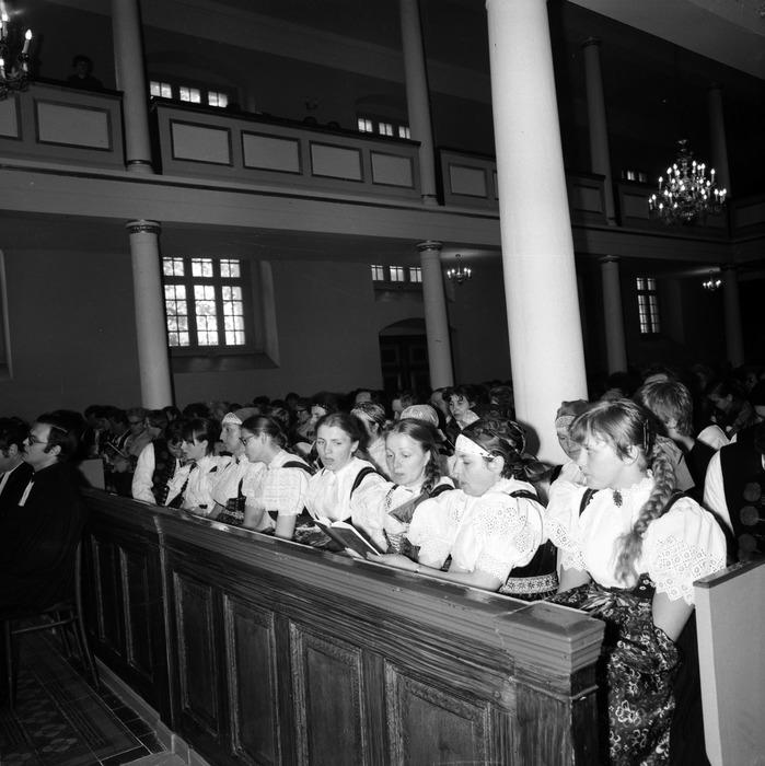 Nabożeństwo w kościele ewangelickim [5]