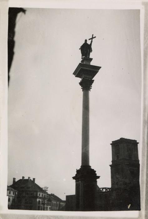 Zniszczenia wojenne w Warszawie, 1940 r. [1]