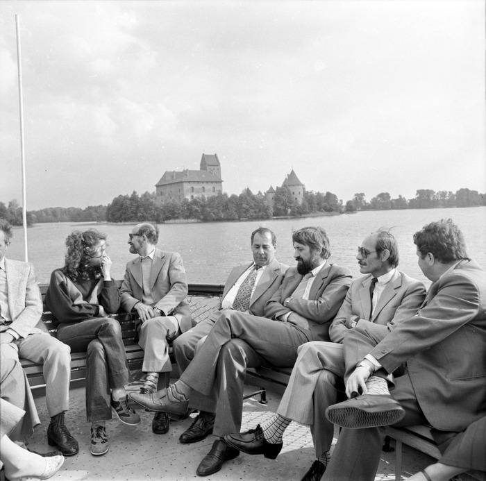 Wizyta delegacji z Giżycka na Litwie: Troki [69]