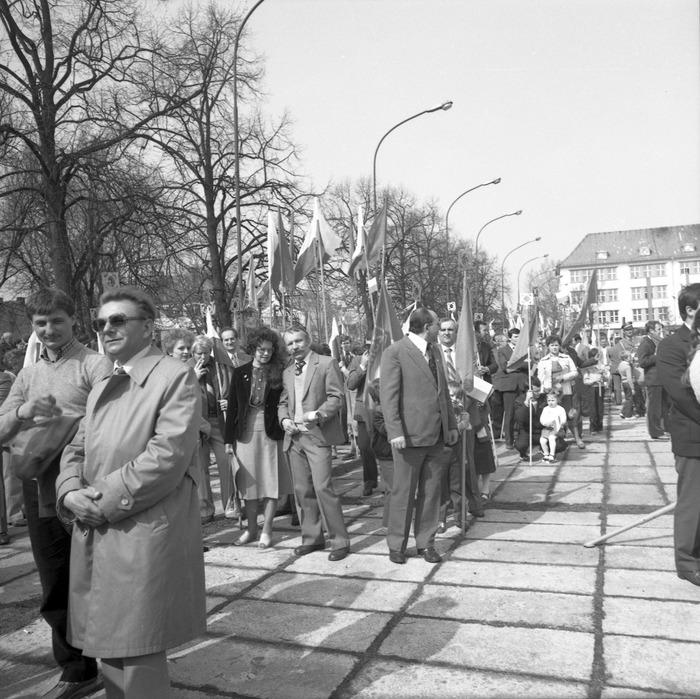 Pochód pierwszomajowy, 1984 r. [28]