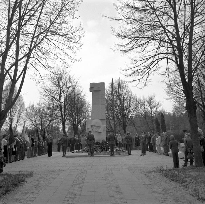 Uroczystość odsłonięcia pomnika żołnierzy radzieckich [42]