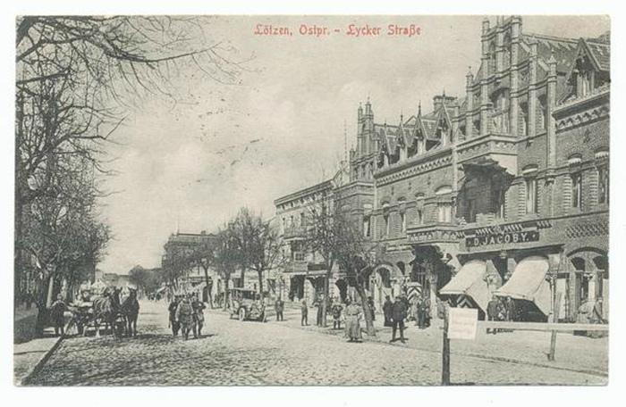 Archiwalia Lötzen przed 1945 r.