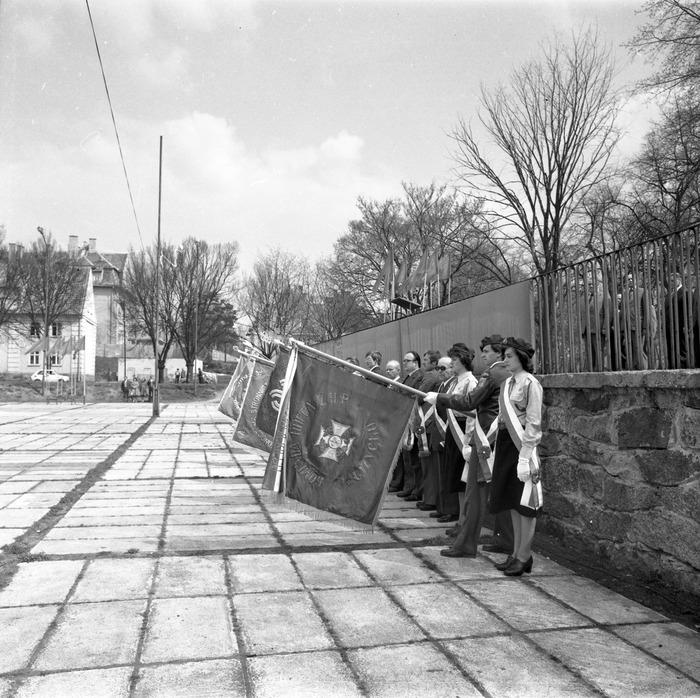 Uroczystość odsłonięcia pomnika żołnierzy radzieckich [5]