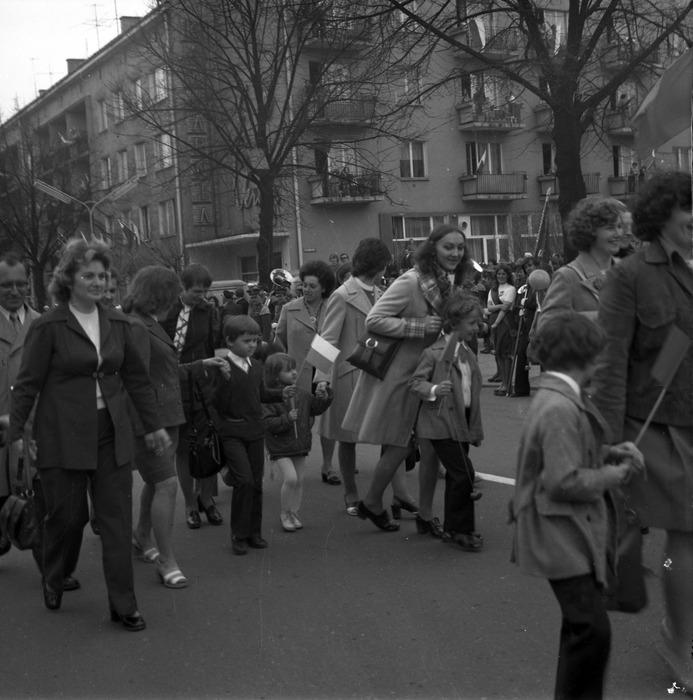 Pochód pierwszomajowy, 1975 r. [63]