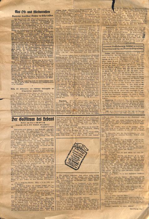 Lötzener Zeitung - Beilage zur Lötzener Zeitung - Juni 1936