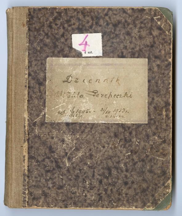 Dziennik Witolda Perepeczko<br /><br /> 1.01.1945 - 31.12.1953