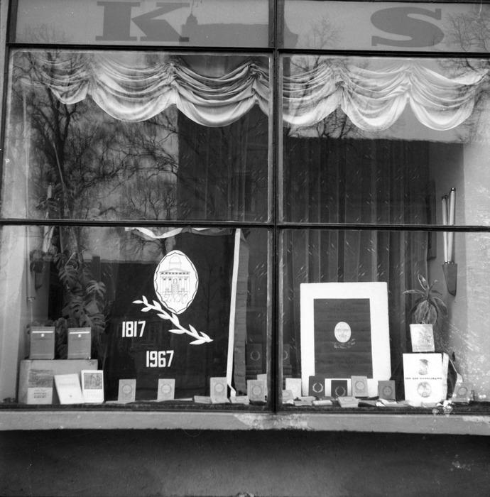 Witryna Domu Książki, 1967 r.