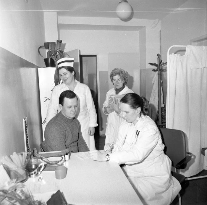 Dzień Służby Zdrowia w szpitalu ZOZ, 1986 r. [2]