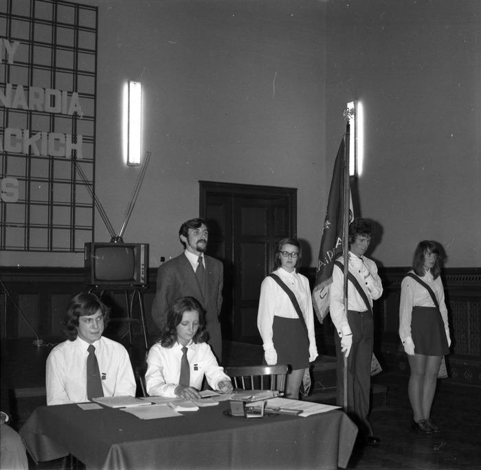 """Za zasługi dla ZMS"", 1976 r. [1]"