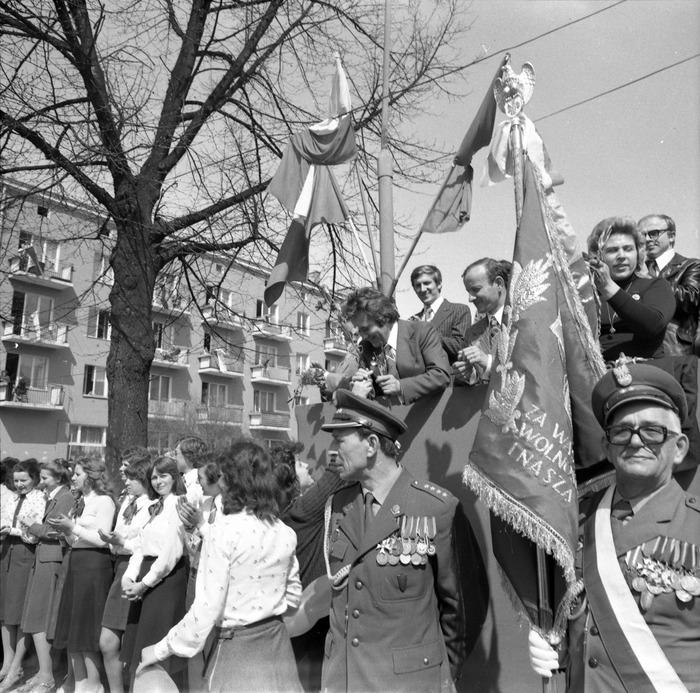 Pochód pierwszomajowy, 1977 r. [31]