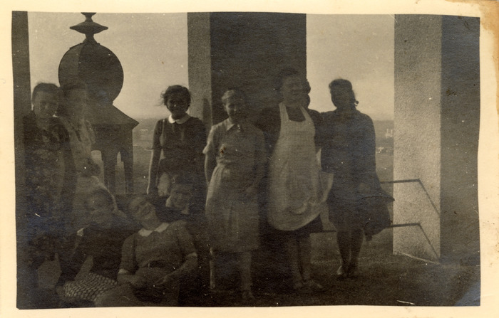 Gminna Szkoła Gospodarstwa Domowego w Wawrze, 1940 r. [13]