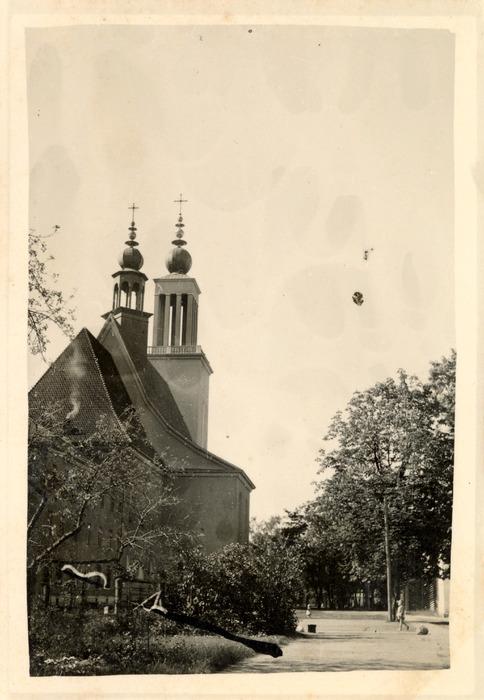 Kościół w Marysinie Wawerskim, 1940 r.