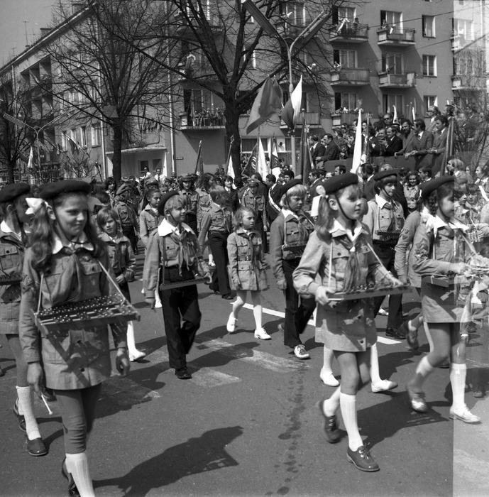 Pochód pierwszomajowy, 1975 r. [60]