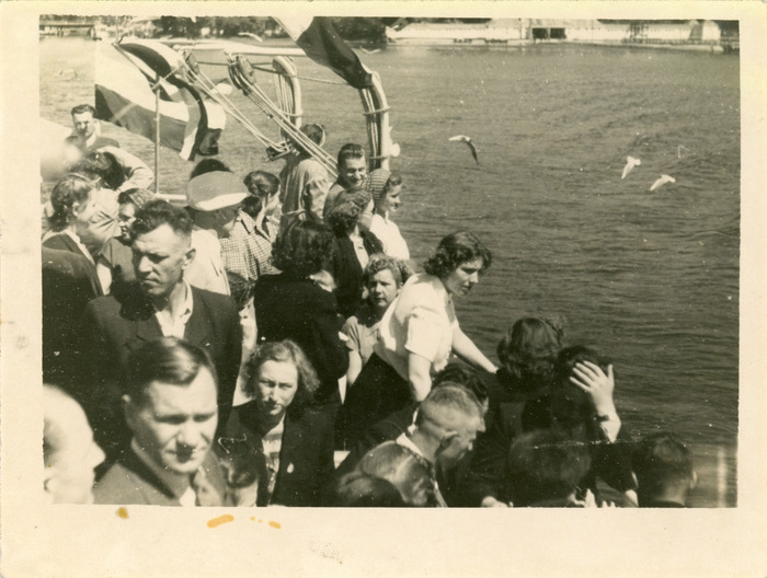 "Rejs statkiem ""M. Fornalska"" - lata 50. XX w. [3]"