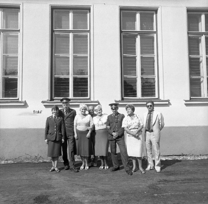 Wizyta delegacji z Giżycka w Trokach, 1987 r. [50]