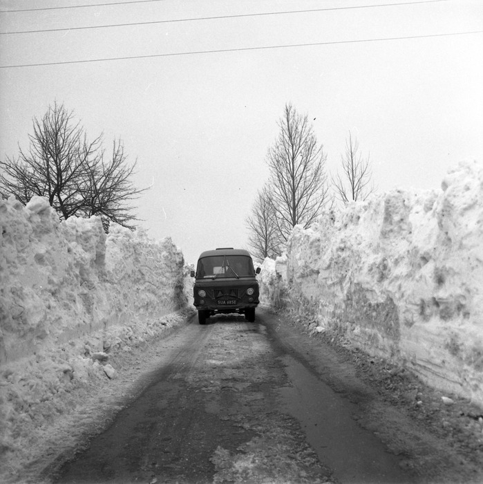 Zima stulecia na mazurskich drogach [16]