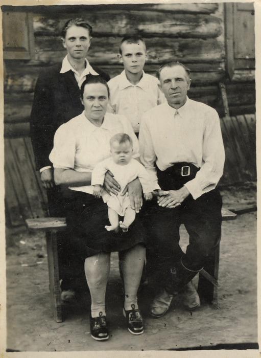 Rodzina Sienkiewiczów na Syberii
