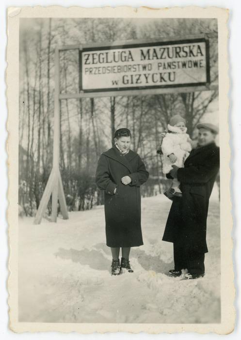 Rodzina Jaroszów, ok. 1957 r. [1]