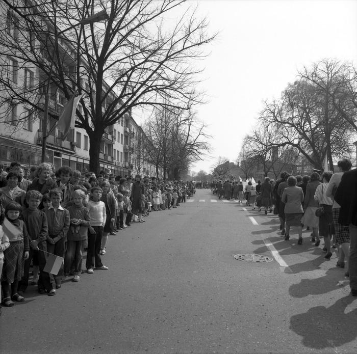 Pochód pierwszomajowy, 1984 r. [26]