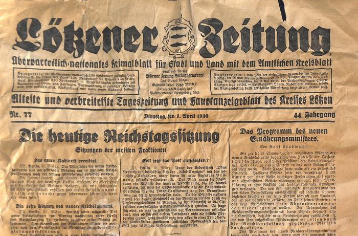 Lötzener Zeitung